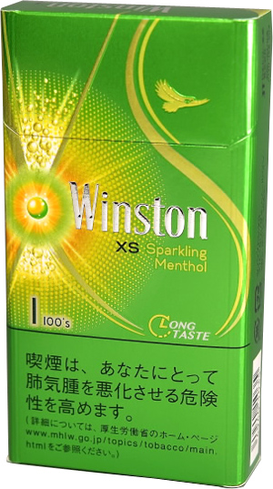 Winston sparkling menthol one 100s
