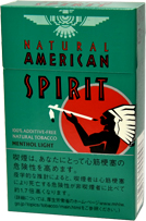 NATURAL AMERICAN SPIRIT Organic Mint LIGHT