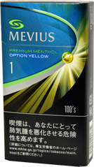 Mevius Premium Menthol option 1yellow 100's