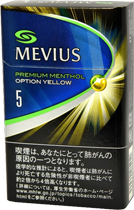 Mevius Premium Menthol option 5 yellow