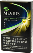 Mevius Premium Menthol option 8 yellow